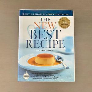 NWT The New Best Recipe By Cook's Illustrated Book